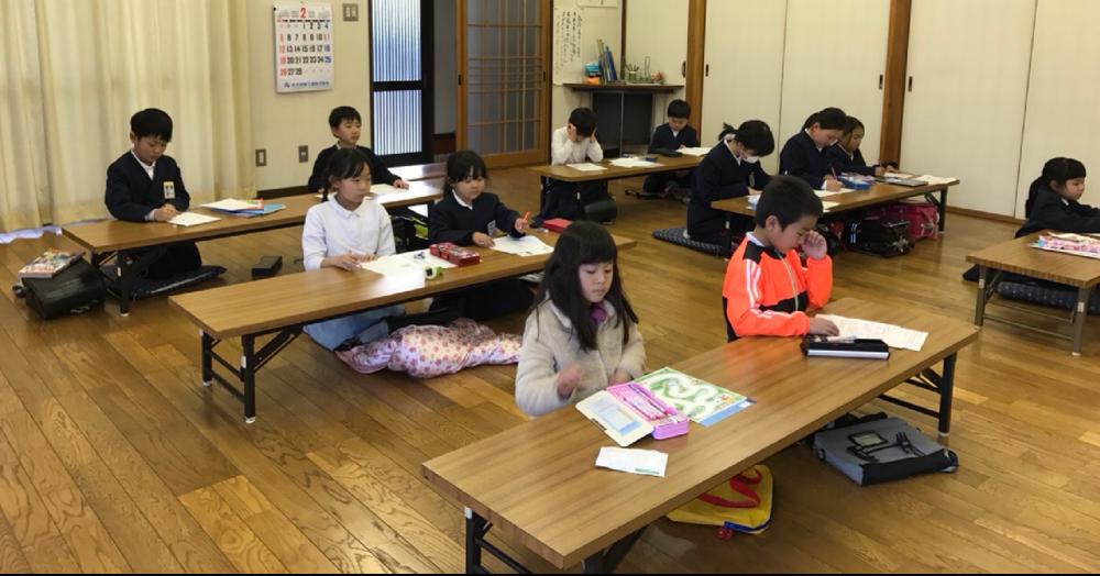 学研みらい教室西条中央・寺家の授業風景